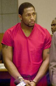 ray lewis cuffed